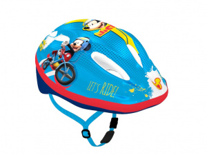 Disney fietshelm Mickey Mouse junior blauw