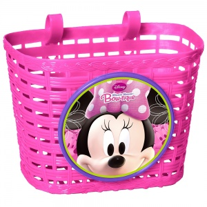 Disney fietsmand Minnie Mouse roze 4 liter
