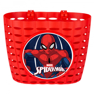 Disney Spider-Manfahrradkorb Junior 20 cm rot