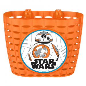 Disney fahrradkorb Star Wars BB8Junior 20 cm orange