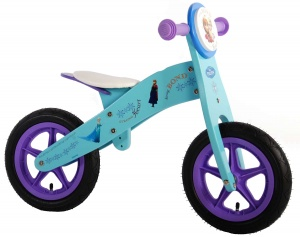 Disney Frozen loopfiets 12 Inch Girls Light blue