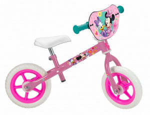 Disney loopfiets Minnie Mouse 10 Inch Girls Pink