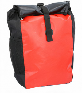 Dunlop luggage carrier bag 47 x 24 x 14 cm polyester red 15 litres