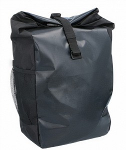 Dunlop luggage carrier bag 47 x 24 x 14 cm polyester black 15 litres