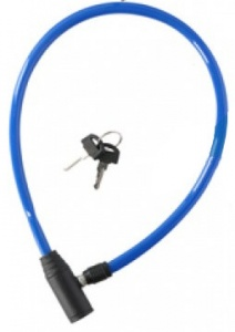Dunlop cable lock 650 x 4 mm blue