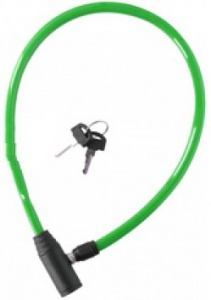 Dunlop cable lock 650 x 4 mm green