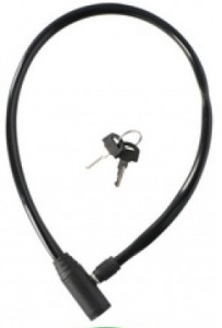 Dunlop cable lock 650 x 4 mm black