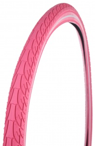 Dutch Perfect buitenband Reflex 28 x 1.90 (50-622) roze