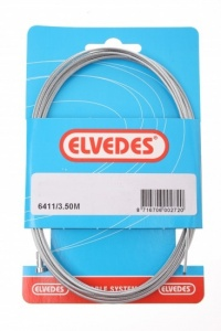 Elvedes inner cable brake rear 6411 galvanized 3500 mm silver