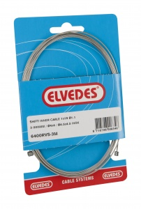 Elvedes Derailleur inner cable 3000 mm silver