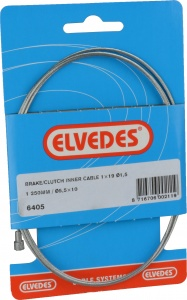 Elvedes Brake cable within 6405 universal 1250 x 1.5 mm silver