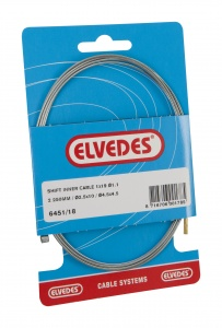 Elvedes inner cable gear SA 2500 mm silver 6451/18