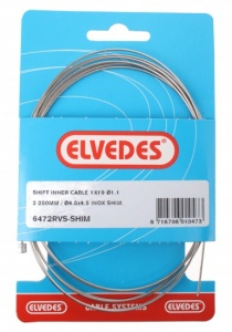 Elvedes acceleration inner cable Shimano 2:25 m 1.1 mm 6472 silver