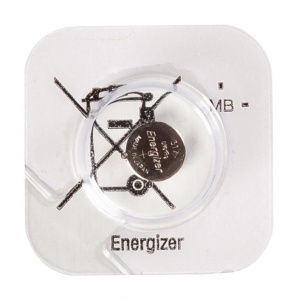 Energizer battery button cell 317 SR62 1 piece