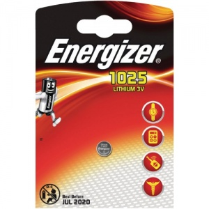 Energizer pile bouton Lithium 3V CR1025 Lithium 3V chacun