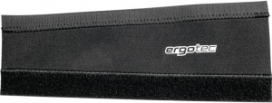 Ergotec Chain stay protection 260x80x100 mm, NS Lycra black/silver