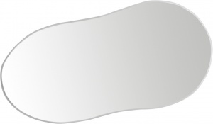 Ergotec spare mirror for M-88 glass 111 x 52 mm