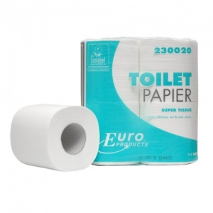 Euro Products Toiletpapier Tissue Cellulose Per 4 Rollen(200)