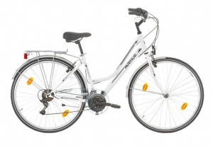 Expert Avenue 28 Inch Woman 18SP Rim Brakes White