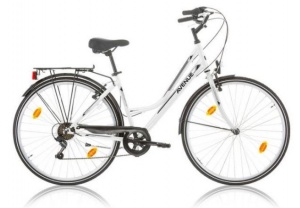 Expert Avenue 28 Inch Woman 6SP Rim Brakes White