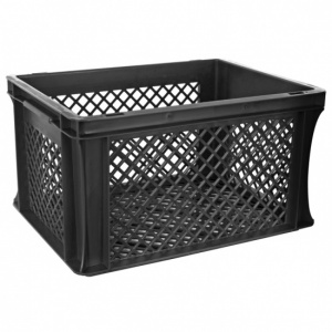 FastRider bike crate junior 25 liter black