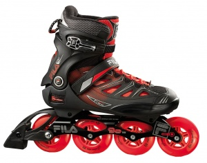 2cda6716480 Fila Inline Skates Ghibli 90 men black / red
