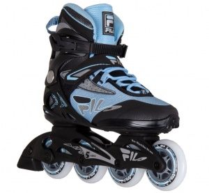 0359a10d220 Fila inlineskates Legacy Comp Lady black/light blue