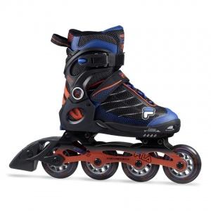 5817685ea7e Fila inline skates Wizy Alu boys black / blue / red