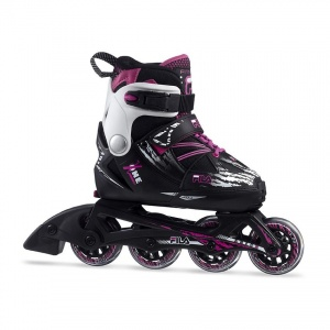 90205d16303 Fila inline skates X One girls black / purple