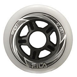 Fila wheel stunt scooter 90mm white 8 pieces