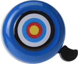 Free and Easy bicycle bell blue 53 mm dartboard