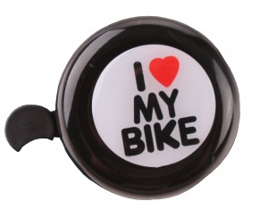 Free and Easy bicycle bell black 53 mm love my bike