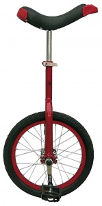 Fun Eenwieler 16 Inch 43 cm Unisex Red
