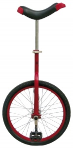 Fun Eenwieler 20 Inch 46 cm Unisex Red