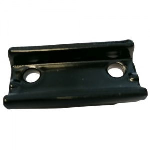 Gazelle mounting plate for luggage rack black