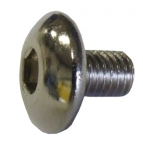 Gazelle socket head screw M5 x 8 mm stainless steel chrome each