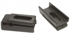 Gazelle chain guard Agudoadapter plate for U-bracket black
