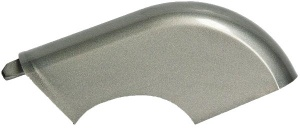 Hesling chain guard Xcero silver grit