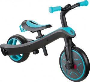 Globber Trike Explorter 2-in-1 Junior Bleu/Noir