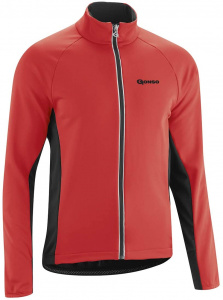 Gonso veste de cyclisme Diorithomme polyester rouge