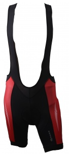 Gonso Keno bibshort men's black / red