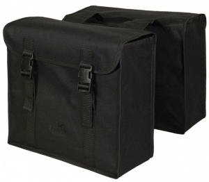 Greenlands double bicycle bag 34L black