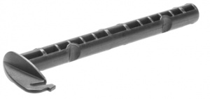 Hamax locking pin Zenith 12 x 4.5 cm plastic grey