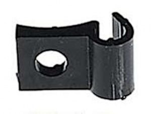 Herrmans Cable Holder Only Black Each