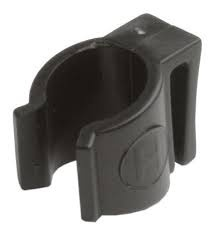 Hesling mounting clip dress guard 16 mm black per piece