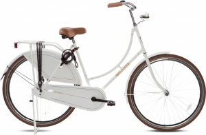 Highlander Classic 28 Inch 53 cm Woman Coaster Brake White