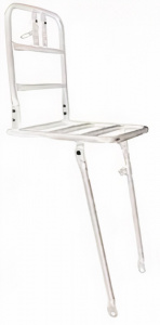 HZB front carrier 20 inch aluminium white
