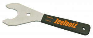 IceToolz trapassleutel 11C1 Hollowtech2 16T 44 mm staal zwart