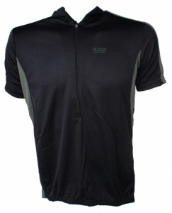 IXS Fietsshirt Cusco Basic-Comp heren zwart