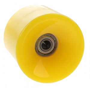 Johntoy Urban District Longboard Rollen 65 x 51 mm 82A gelb